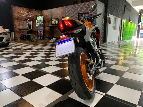 honda cb 190 r repsol 2018 naranja cpm
