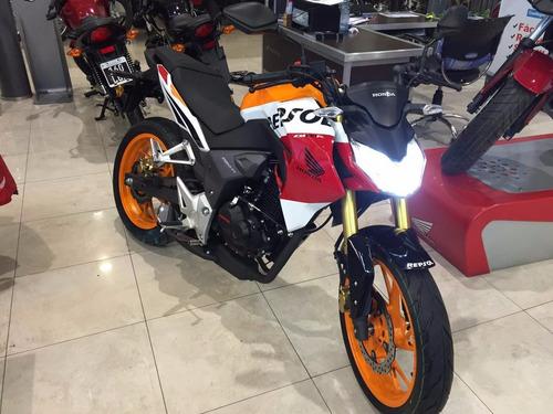 honda cb 190 r repsol 2019 0 km nueva moto sur negra