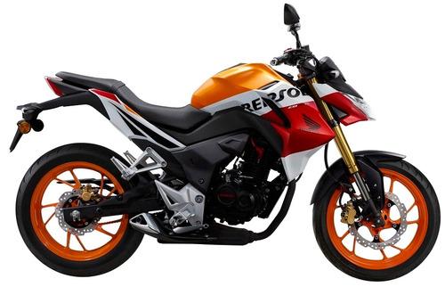 honda cb 190 r repsol financiación en 60 cuotas delcar motos