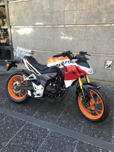 honda cb 190 repsol 0km entrega inmediata reggio motos