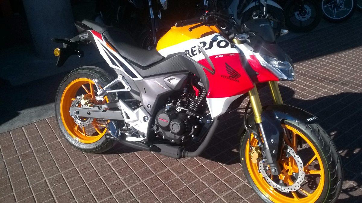 Honda El Centro >> Honda Cb 190 Repsol - $ 91.700 en Mercado Libre