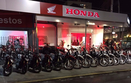 honda cb 190r 0km power bikes roja negra 2017