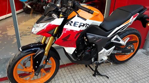 honda cb 190r repsol 0km permuto financio supply bikes