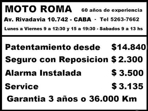honda cb 250 18ctas$15.116 consultar contado motoroma