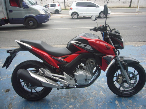 honda cb 250 f twister 2019 vermelha r$13.900 moto recuperad