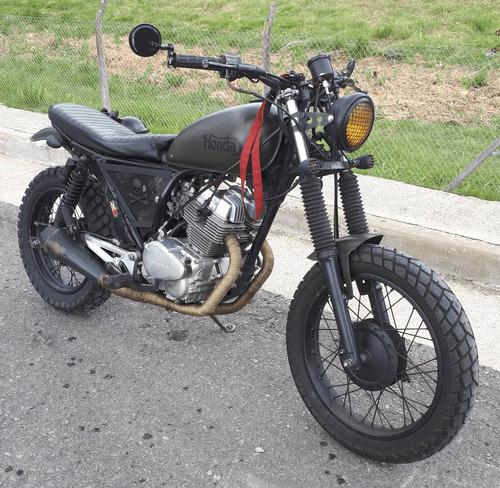 honda cb 250 lp nighthawk 1993 estilo street tracker