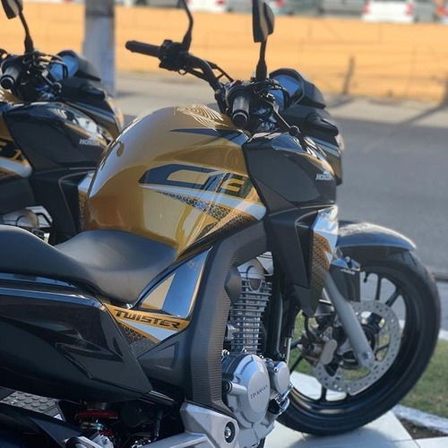 honda cb 250 twister 0 km 2020 en color amarillo