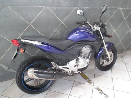 honda cb 300 azul 2011