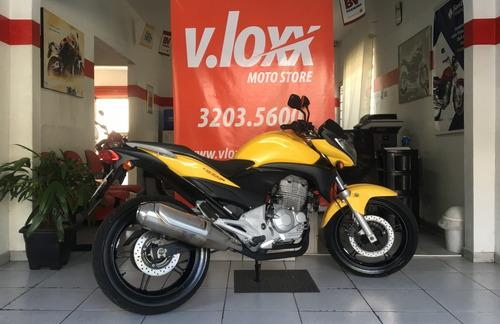 honda cb 300 r amarela 2012