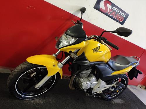 honda cb 300 r cb300r cb 300r 2012 amarela amarelo