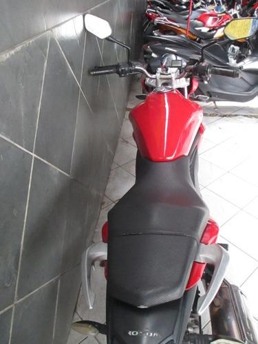 honda cb 300 r vermelha 2010