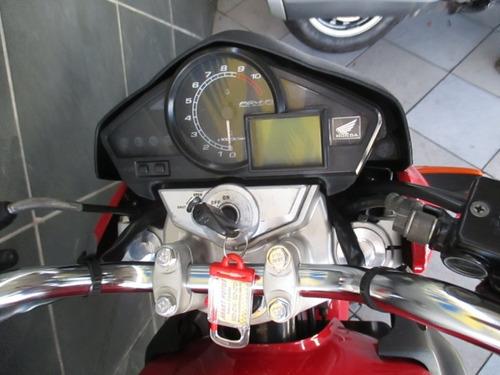 honda cb 300 vermelha 2010