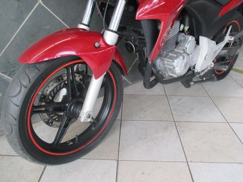 honda cb 300 vermelha 2013