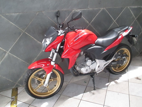 honda cb 300 vermelha 2015