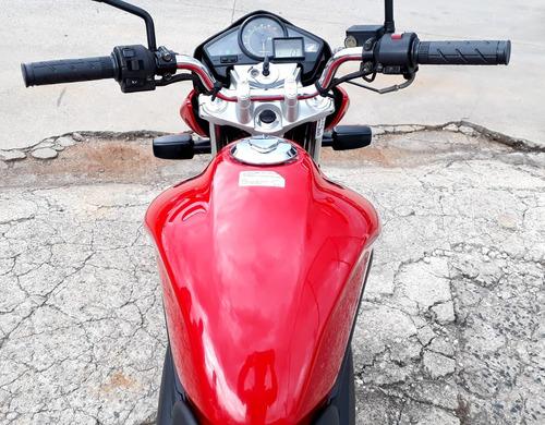 honda cb 300 vermelha muito nova!
