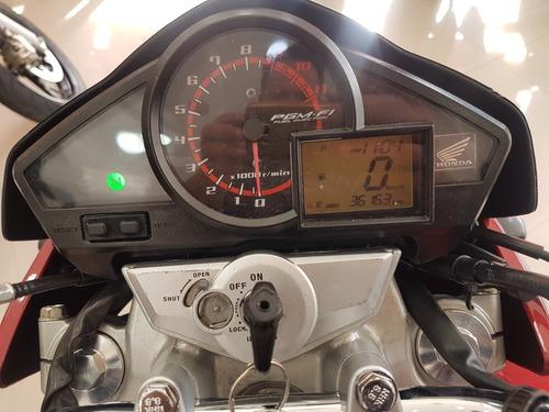 honda cb 300r 2013 vermelha 36000 km