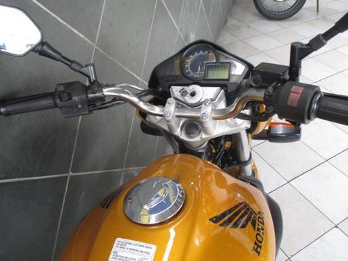 honda cb 300r amarela 2010