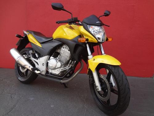 honda cb 300r amarela