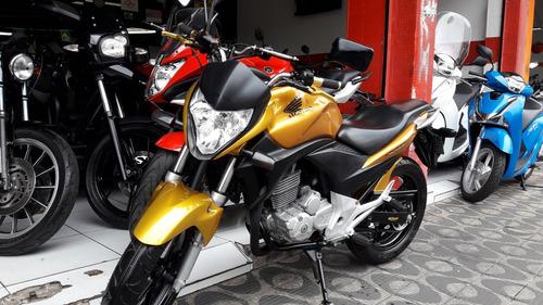honda cb 300r ano 2011 amarela shadai motos