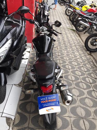 honda cb 300r ano 2015 preta shadai motos