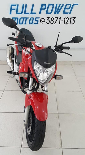 honda cb 300r vermelha 2014