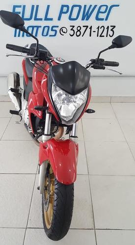 honda cb 300r vermelha  2015