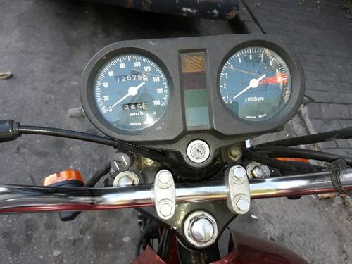 honda cb 400 1983 vermelha toda original!