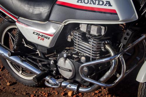 honda cb 450cc tr 1987 - original