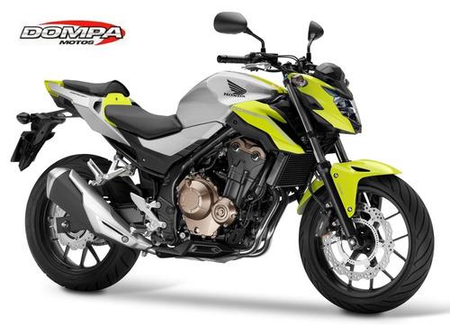 honda cb 500 f calle naked sport 0 km dompa motos