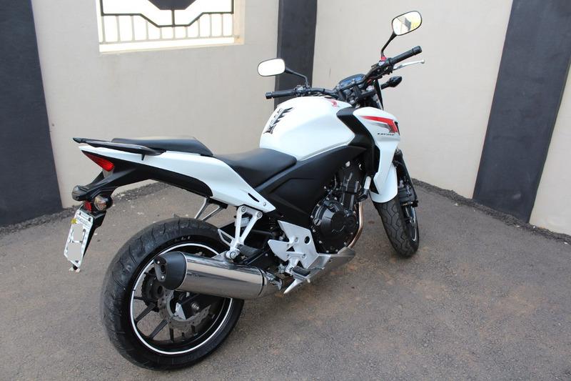 honda cb 500f  13/14 - linda moto