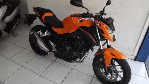 honda cb 500f abs 2019 laranja