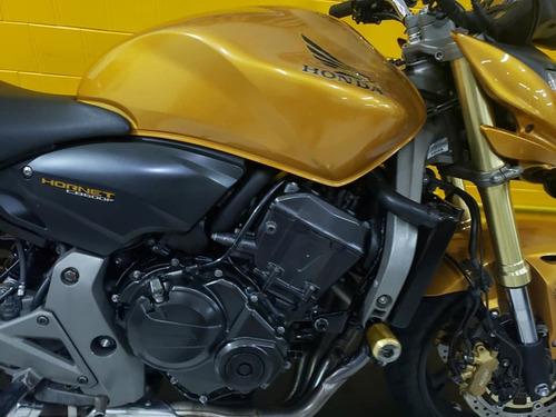 honda cb 600 f  hornet  - 2010 - amarela -abs   - km 13.800