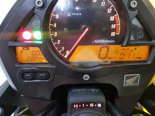 honda cb 600 f  hornet  - 2011 - azul   - km 22.000