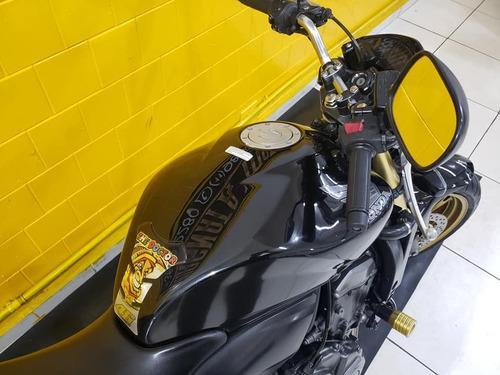 honda cb 600 f  hornet -  preta  -  2012 -  1197740-1073 déb