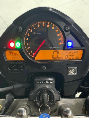 honda cb 600f hornet - 2010 - apenas 17.000km-manual+chave