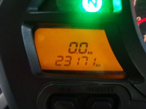honda cb 600f hornet verde 2011