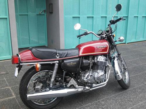 honda cb 750 four super sport 1976