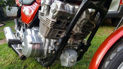 honda cb 750f 1980 roja restaurar muy completa cb 750
