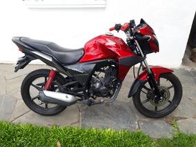 Honda Cb Twister 110 Roja