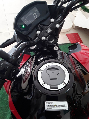 honda cb twister cbs 250cc painel digital, lanterna em led,