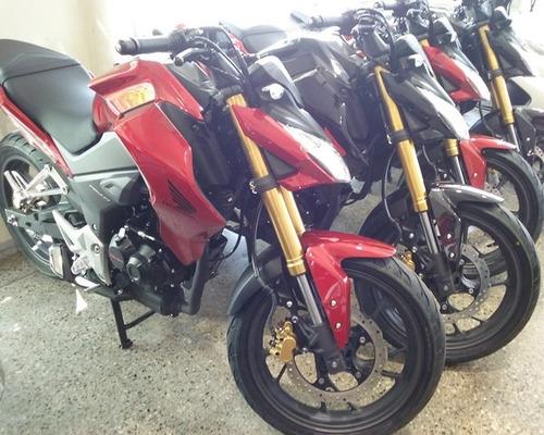 honda cb190 r 0km. rojo- negro en motorrader!!!