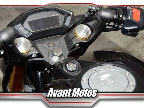 honda cb190r rojo 2018 0km avant motos