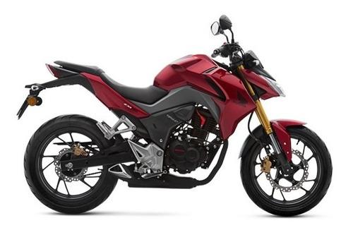 honda cb190r rojo 2020 0km avant motos