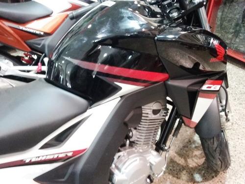 honda cb250 twister 2017 0km blanco-negro-rojo en motorrader