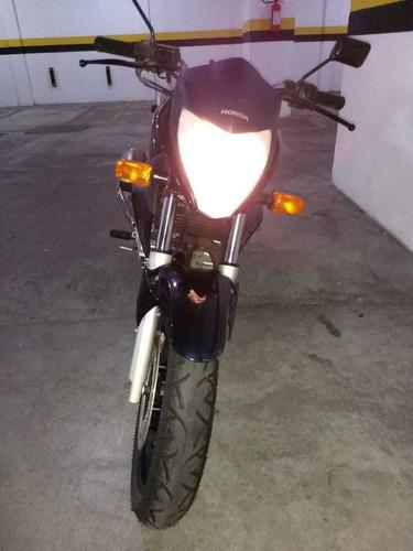 honda cb300r 2012, azul-escuro