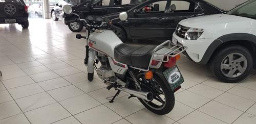 honda cb400i prata 1983 gasolina (placa preta)
