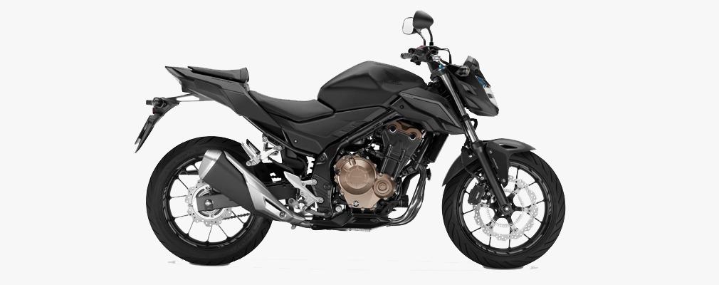honda cb500 f 2018 0km negro mate avant motos. Black Bedroom Furniture Sets. Home Design Ideas