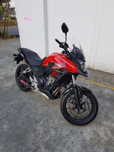 honda cb500x, moto, touring,