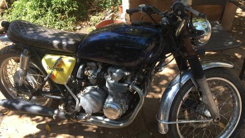 honda cb550 four supersport moto clásica caferacer año78