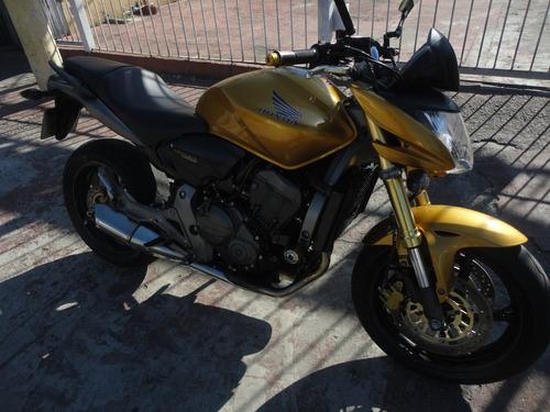 honda cb600f hornet 2009 - amarela - doc. 2018 tudo pago